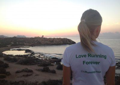 Love running forever