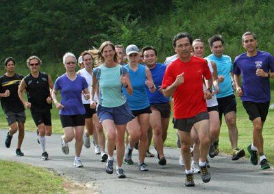 grupo corriendo danny