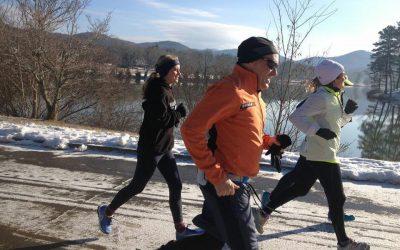 Lección de vida de una corredora