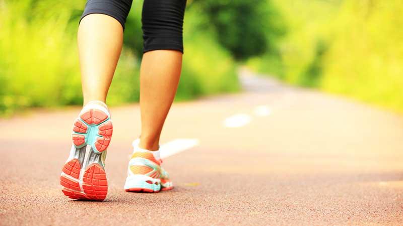 Caminando de forma correcta